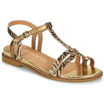 Pantofi Femei Sandale  Karston SOREN Auriu