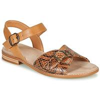 Pantofi Femei Sandale  Karston XABERO Camel / Piton