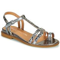 Pantofi Femei Sandale  Karston SOREN Argintiu