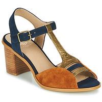 Pantofi Femei Sandale  Karston LILIAN Maro / Albastru