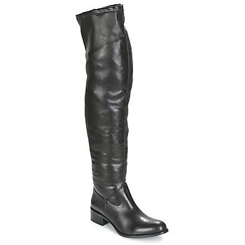 Pantofi Femei Cizme lungi peste genunchi Betty London GLAMOU Negru
