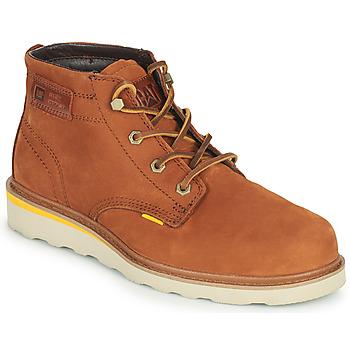 Pantofi Bărbați Ghete Caterpillar JACKSON MID Maro