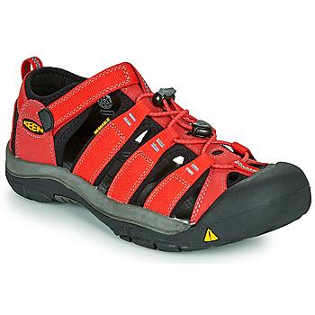 Pantofi Copii Sandale sport Keen NEWPORT H2 Roșu