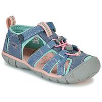 Pantofi Fete Sandale sport Keen SEACAMP II CNX Gri / Roz