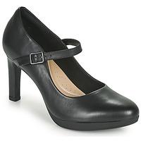 Pantofi Femei Pantofi cu toc Clarks AMBYR SHINE Negru