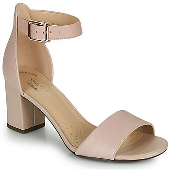 Pantofi Femei Pantofi cu toc Clarks DEVA MAE Roz