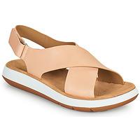 Pantofi Femei Sandale  Clarks JEMSA CROSS Nude