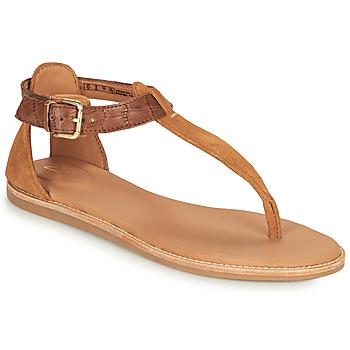Pantofi Femei Sandale  Clarks KARSEA POST Maro / Camel