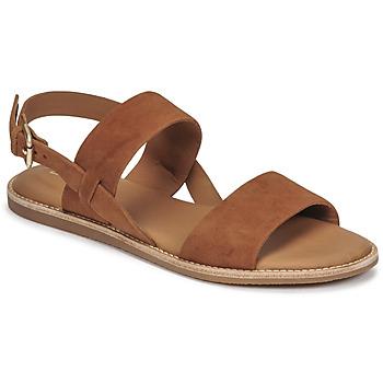 Pantofi Femei Sandale  Clarks KARSEA STRAP Camel