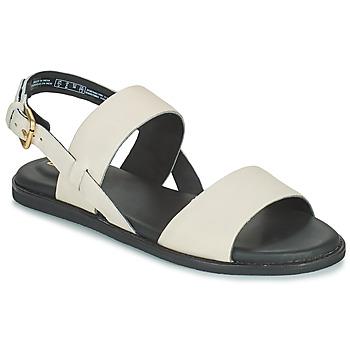 Pantofi Femei Sandale  Clarks KARSEA STRAP Alb