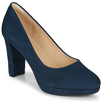 Pantofi Femei Pantofi cu toc Clarks KENDRA SIENNA Albastru