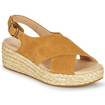 Pantofi Femei Sandale  Clarks KIMMEI CROSS Maro