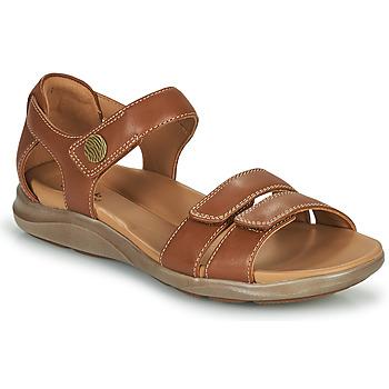 Pantofi Femei Sandale  Clarks KYLYN STRAP Bej