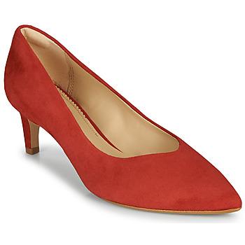 Pantofi Femei Pantofi cu toc Clarks LAINA55 COURT2 Roșu