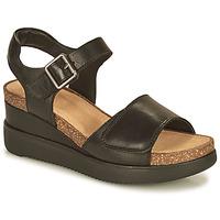 Pantofi Femei Sandale  Clarks LIZBY STRAP Negru