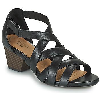Pantofi Femei Sandale  Clarks LORENE POP Negru