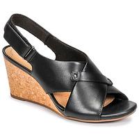 Pantofi Femei Sandale  Clarks MARGEE EVE Negru