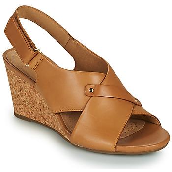 Pantofi Femei Sandale  Clarks MARGEE EVE Bej