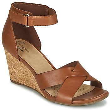 Pantofi Femei Sandale  Clarks MARGEE GRACIE Maro