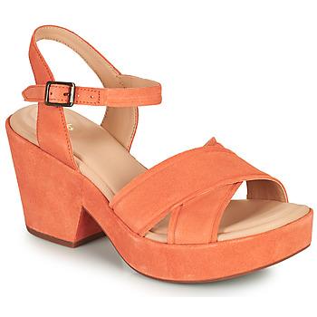 Pantofi Femei Sandale  Clarks MARITSA70STRAP Corai