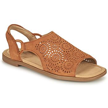 Pantofi Femei Sandale  Clarks REYNA SWIRL Camel