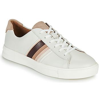 Pantofi Femei Pantofi sport Casual Clarks UN MAUI BAND Alb