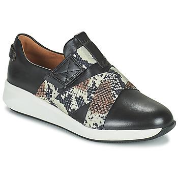 Pantofi Femei Pantofi sport Casual Clarks UN RIO STRAP Negru
