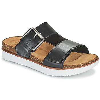Pantofi Femei Papuci de vară Clarks ELYANE EEASE Negru