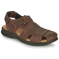 Pantofi Bărbați Sandale sport Clarks HAPSFORD COVE Maro