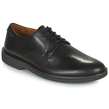 Pantofi Bărbați Pantofi Derby Clarks MALWOOD PLAIN Negru