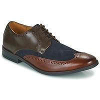 Pantofi Bărbați Pantofi Derby Clarks STANFORD LIMIT Maro / Albastru