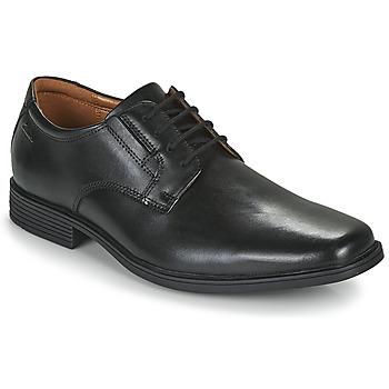 Pantofi Bărbați Pantofi Derby Clarks TILDEN PLAIN Negru