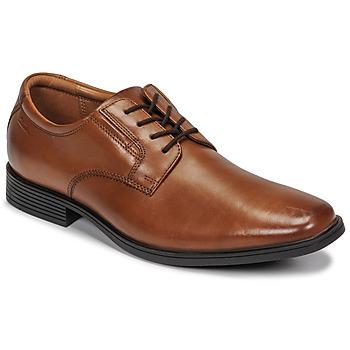 Pantofi Bărbați Pantofi Derby Clarks Tilden Plain Maro