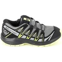 Pantofi Băieți Drumetie și trekking Salomon XA Pro 3D CSWP K Gris Jaune Gri
