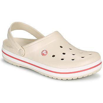Pantofi Femei Saboti Crocs CROCBAND Bej / Corai