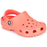 Pantofi Copii Saboti Crocs CLASSIC CLOG K Portocaliu
