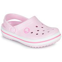 Pantofi Fete Saboti Crocs CROCBAND CLOG K Roz