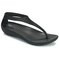 Pantofi Femei  Flip-Flops Crocs CROCS SERENA FLIP W Negru