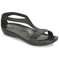 Pantofi Femei Sandale  Crocs CROCS SERENA SANDAL W Negru