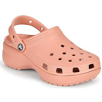 Pantofi Femei Saboti Crocs CLASSIC PLATFORM CLOG W Roz