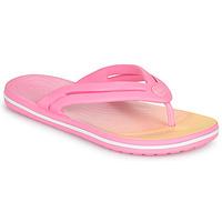 Pantofi Femei  Flip-Flops Crocs CROCBAND OMBRE FLIP W Roz