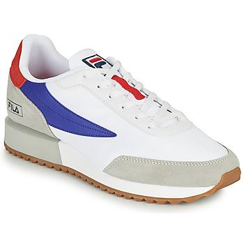 Pantofi Bărbați Pantofi sport Casual Fila RETRONIQUE Alb / Albastru / Roșu
