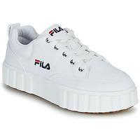 Pantofi Femei Pantofi sport Casual Fila SANDBLAST C WMN Alb
