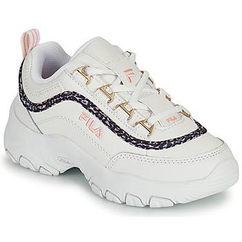Pantofi Fete Pantofi sport Casual Fila STRADA A LOW JR Alb / Bej