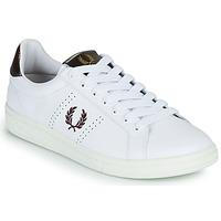 Pantofi Bărbați Pantofi sport Casual Fred Perry B721 Alb