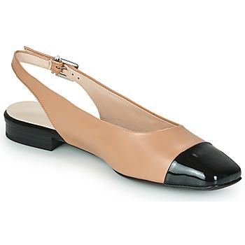Pantofi Femei Balerin și Balerini cu curea Peter Kaiser KILLEEN Nude / Negru