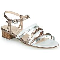 Pantofi Femei Sandale  Peter Kaiser PATIA Bronz / Alb