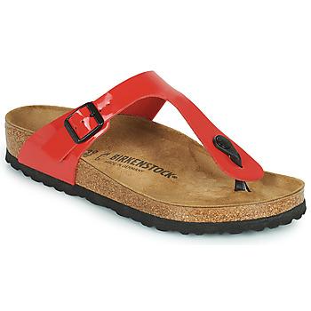Pantofi Femei  Flip-Flops Birkenstock GIZEH Roșu