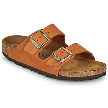Pantofi Femei Papuci de vară Birkenstock ARIZONA SFB Portocaliu