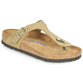 Pantofi Femei  Flip-Flops Birkenstock GIZEH SFB Maro